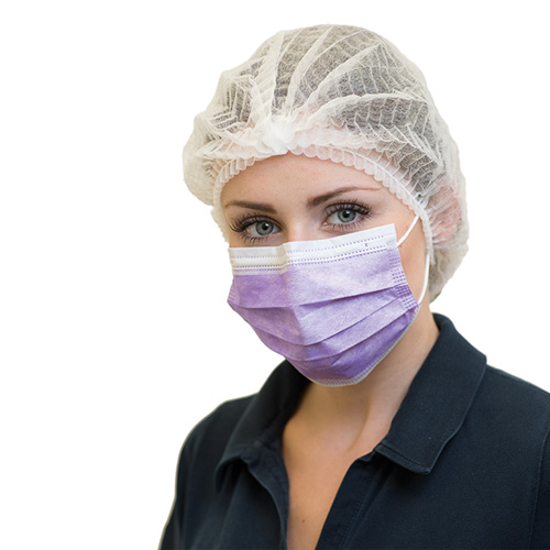 "NITRAS Surgical Mask ""SOFT PROTECT"" lavender"