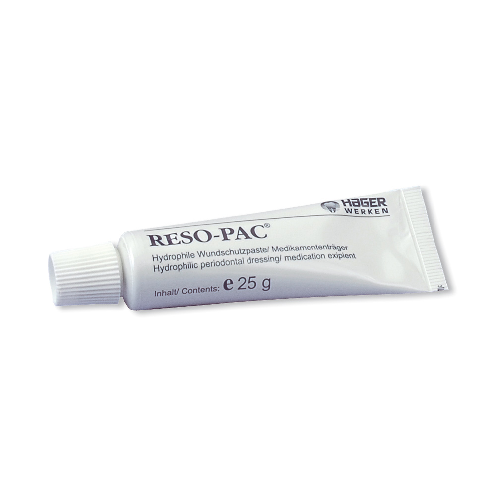Reso-Pac Periodontal Dressing 1 Tube with 25 g