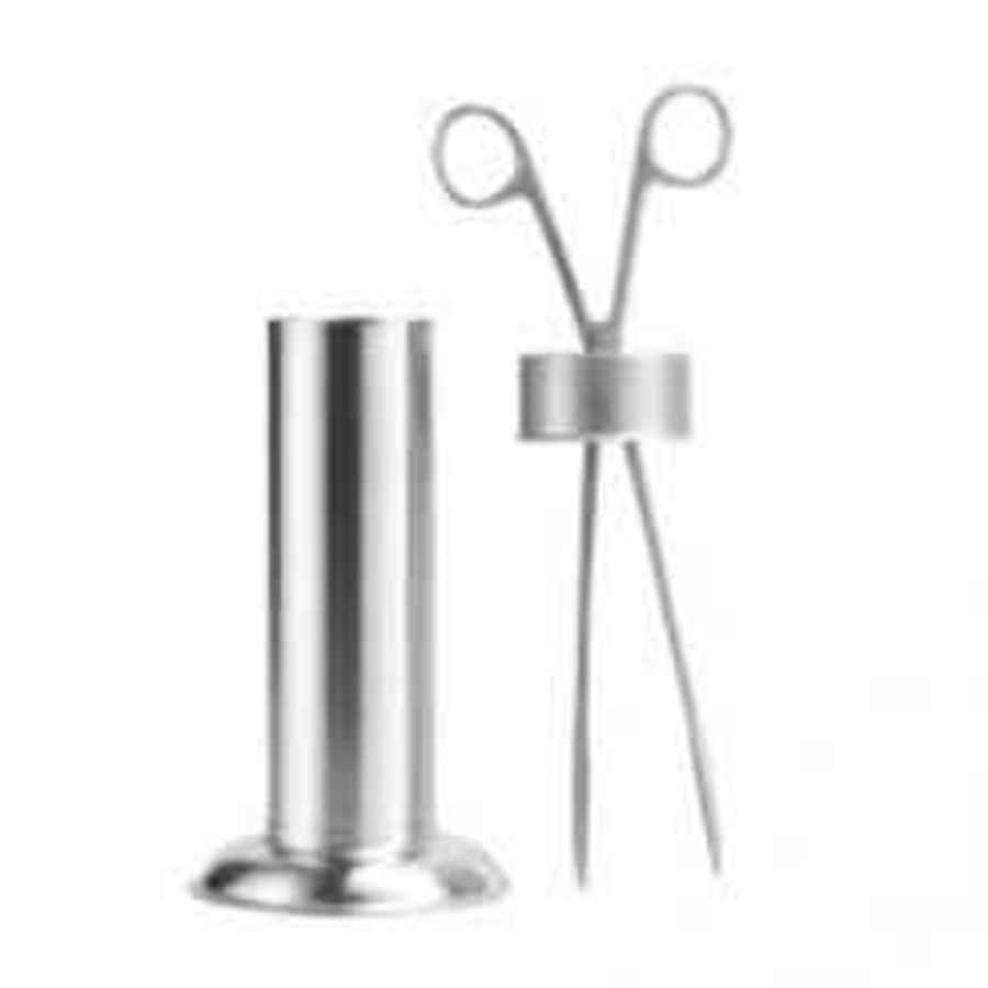 Sterilizing Forceps with Measuring Cylinder