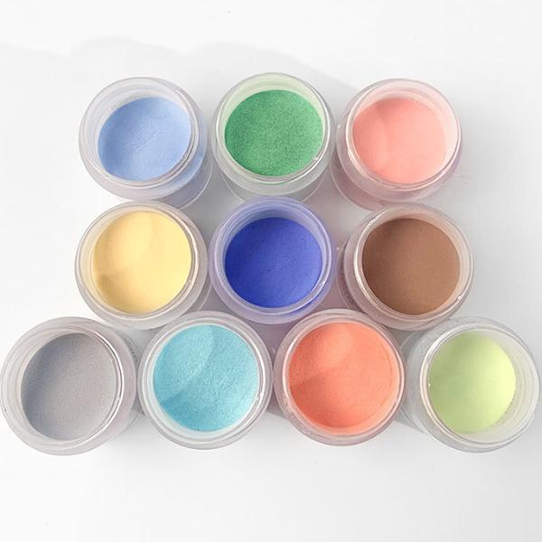 4 Colors 40g Luminous Nail Dipping Powder