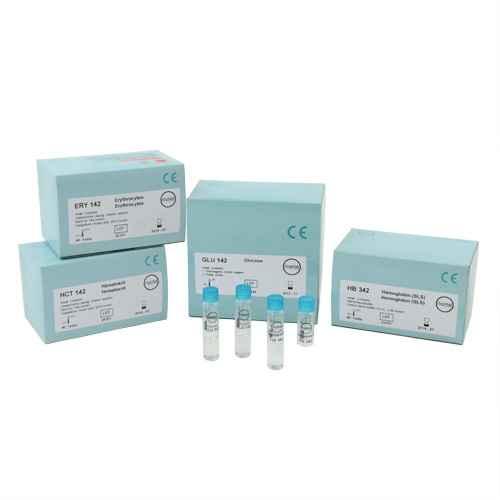Uric acid test cuvettes (serum/plasma), quantity 40