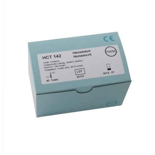 Hematocrit Test Cuvettes, 40 pcs.
