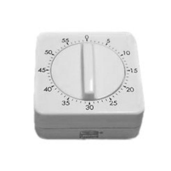 Laboratory timer with acoustic signal