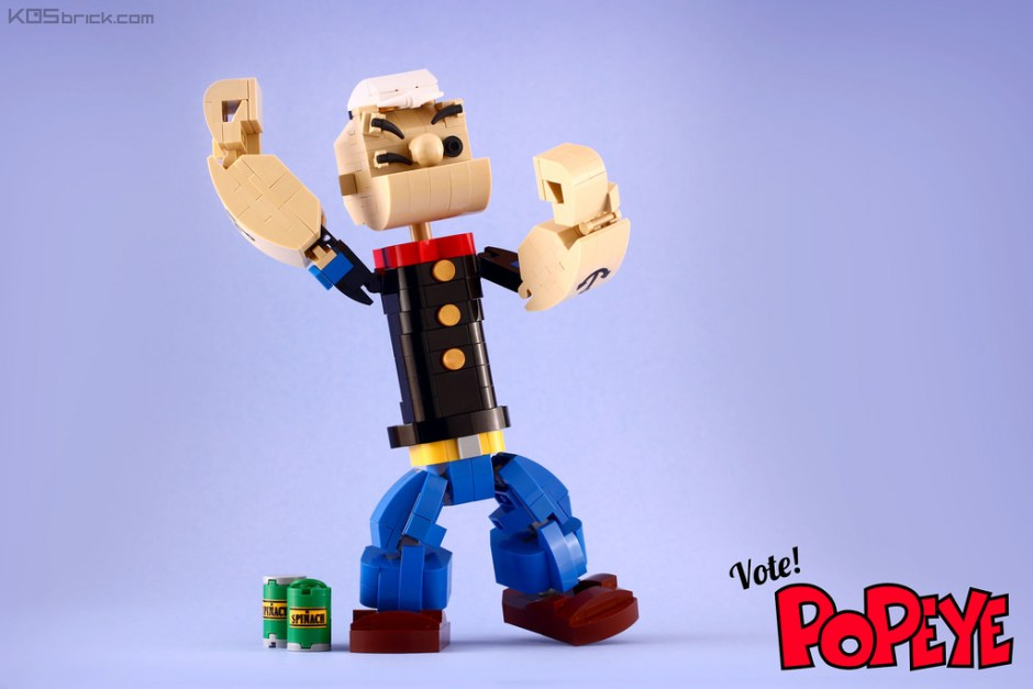 LEGO Popeye