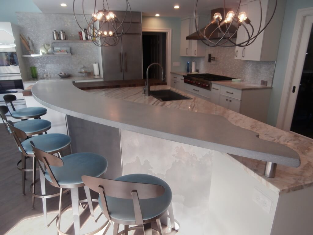 Verdicrete Concrete Countertops Brooks Custom