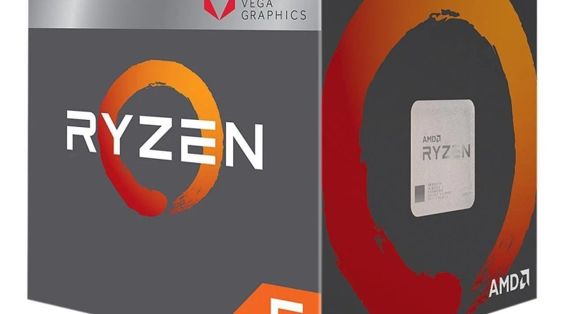 Budget Best Gaming CPU AMD Ryzen 5 2400G Vega 11