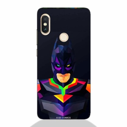 Abstract Batman Redmi Note 5 Pro Back Cover