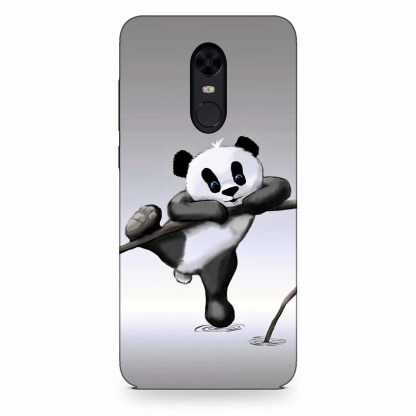 Cute Hanging Panda Xiaomi Redmi Note 5 Back Cover