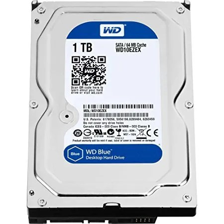 Budget CPU   PC build Rs 20000  2018  - Buytechy WD 1TB SATA/64MB