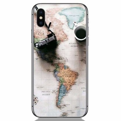 Travel loves Apple iPhone X Back Cover