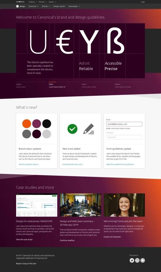 new design website