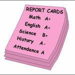 Report cards are coming!