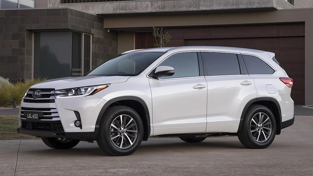 Toyota Kluger 2018 Pricing And Specs Confirmed Car News
