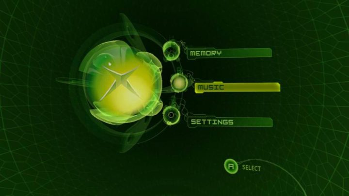 Original XBox Dashboard