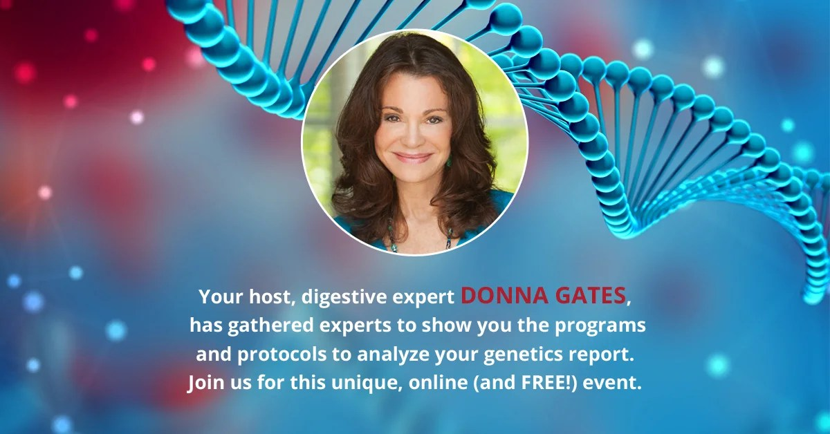 FREE 'Living Cookbook' ebook from Donna Gates