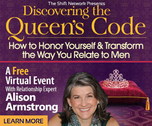 Why a good man is easy to find… : Discover the Queen's Code FREE from the ShiftNetwork 7 Why a good man is easy to find… : Discover the Queen's Code FREE from the ShiftNetwork
