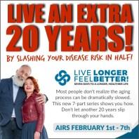 Live Longer, Feel Better! documentary [VIP Invite] 1 Live Longer, Feel Better! documentary [VIP Invite]