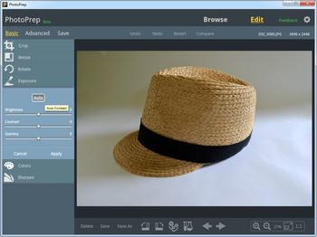 Enhance and adjust photo exposure