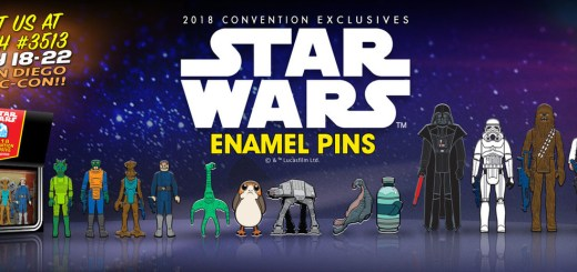 Gentle Giant SDCC exclusive Enamel Pins