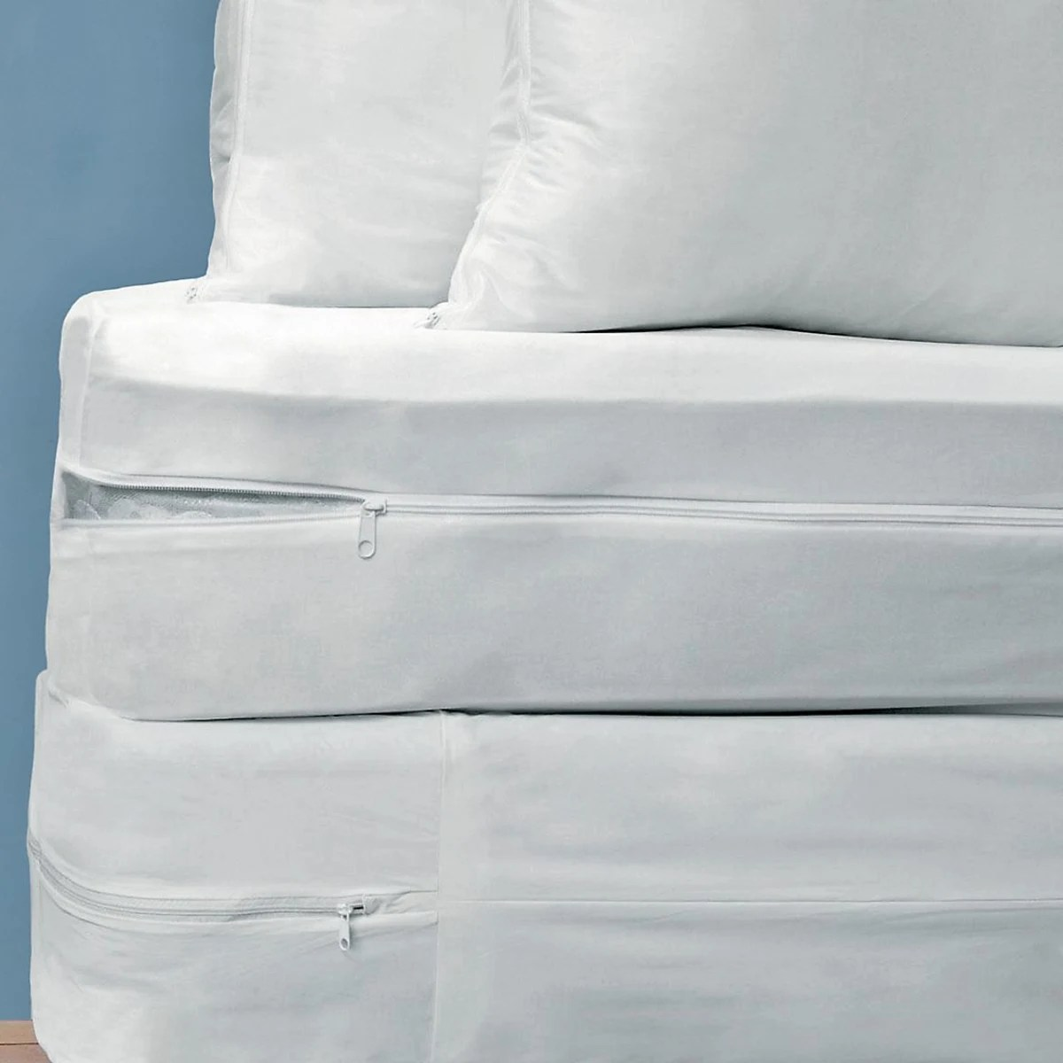 bed bug protective cover set