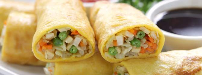 Egg roll or spring roll