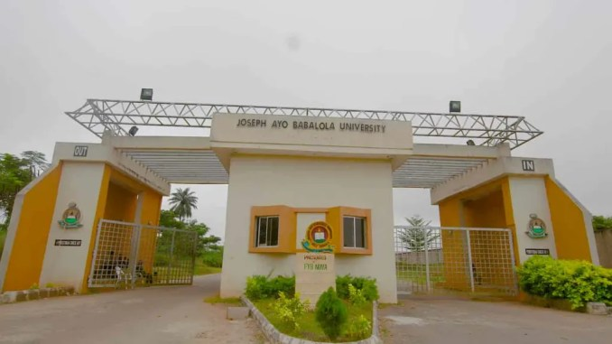 Joseph Ayo Babalola University School Fees