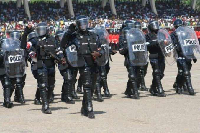 Ghana Police Ranks, Salary Structure & Others (2020)
