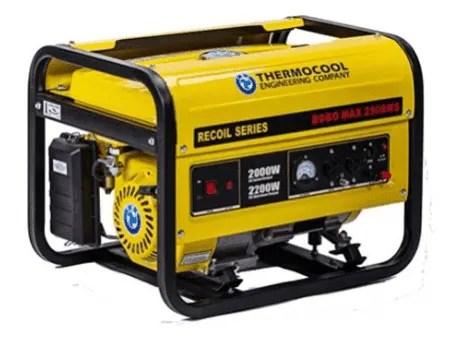3.5kVA Generator in Nigeria : Price & Specs-Hustler ELECT Generator-3500E2 3.5KVA