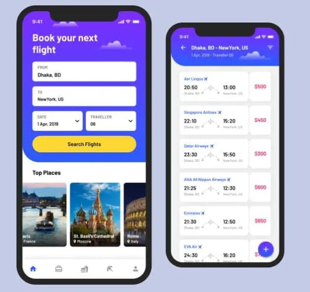 airline mobile apps in Nigeria