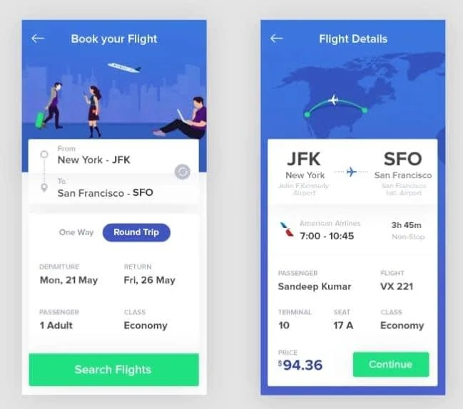 airline mobile apps in Nigeria 2020