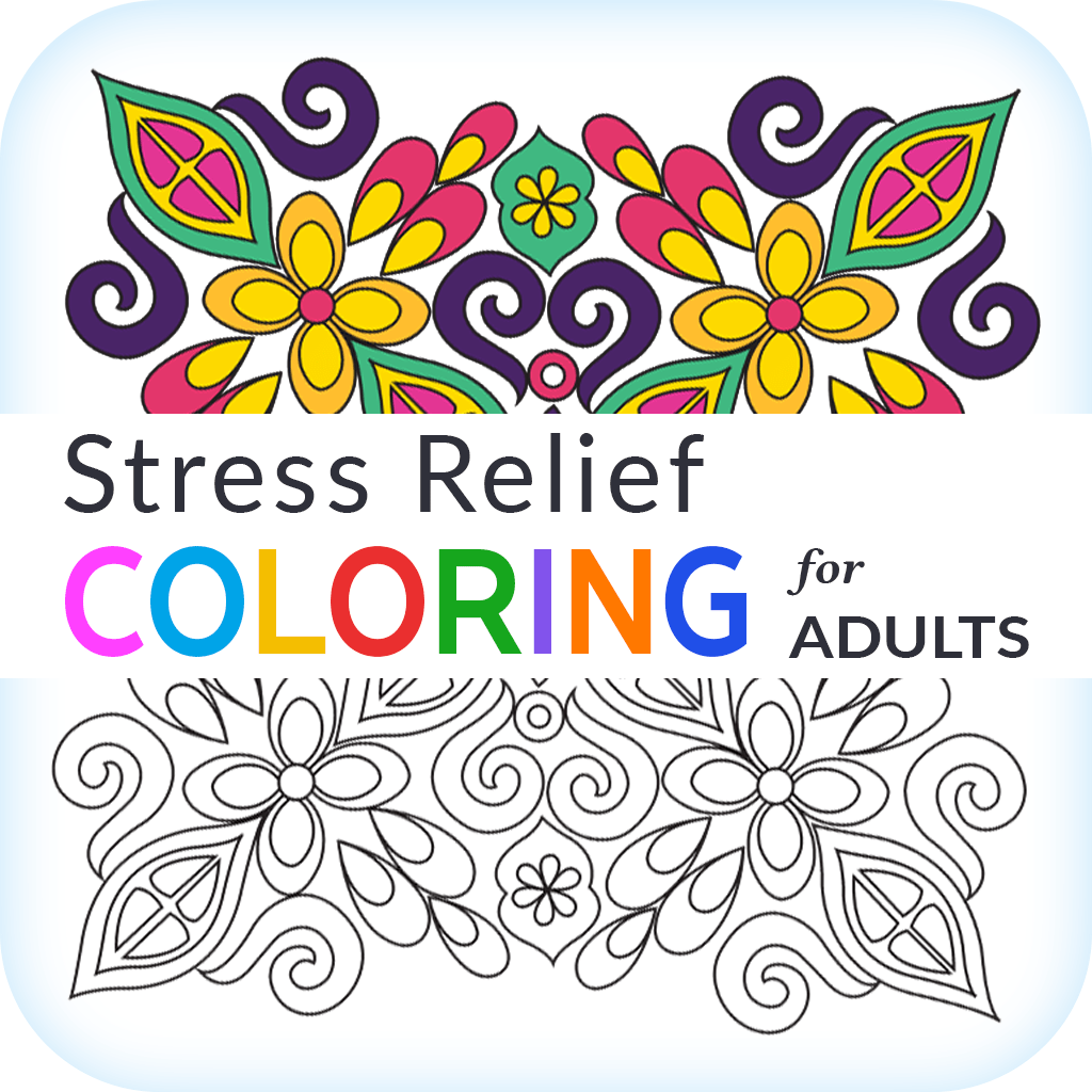 Stress Relief Coloring For Adults