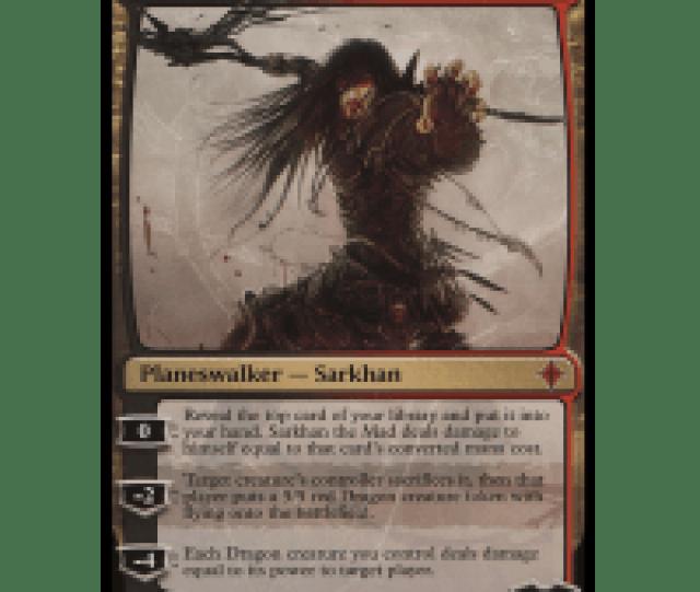 Sarkhan The Mad Thumb Nail