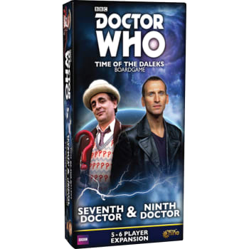 Image result for Doctor Who: Time of the Daleks – Seventh Doctor & Ninth Doctor
