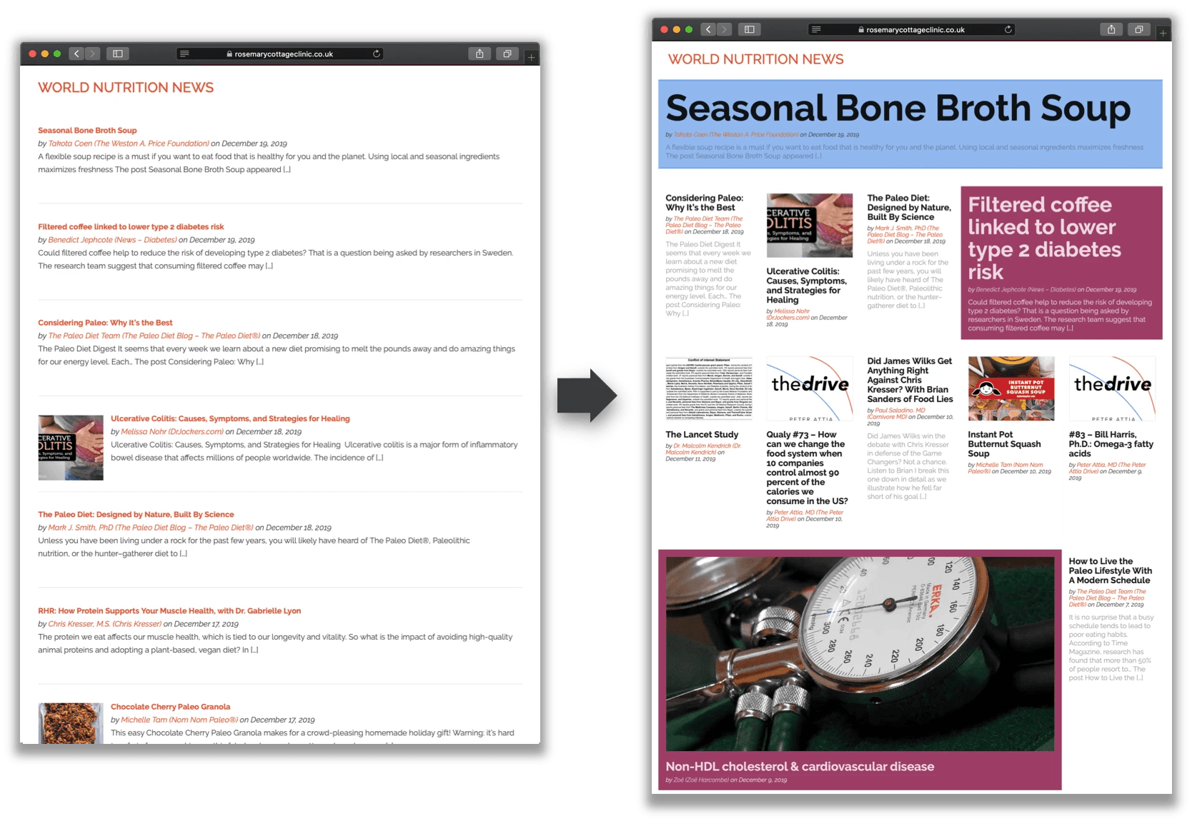 Responsive Grid Magazine Layout in Just 20 Lines of CSS