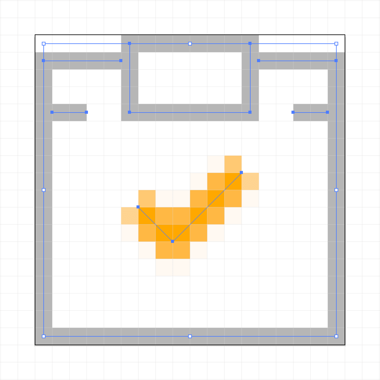 Strokes on the Pixel Grid