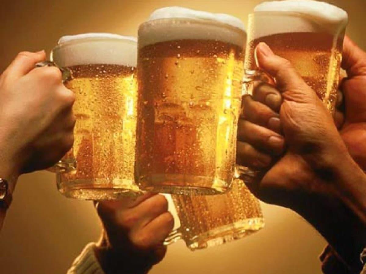 Image result for toasting beer mug
