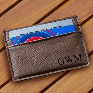 dark-brown-leatherette-money-clip-wallet-1