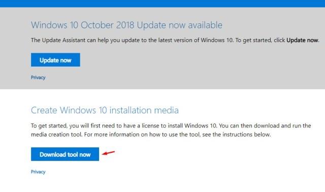 Install Windows 10 Secara Bersih