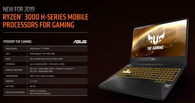 AMD Ryzen Mobile 2nd Gen