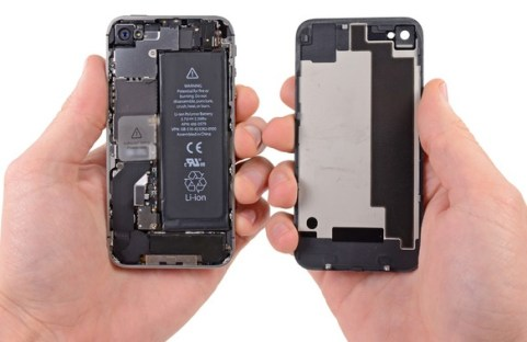 Baterai iPhone 4s step 3