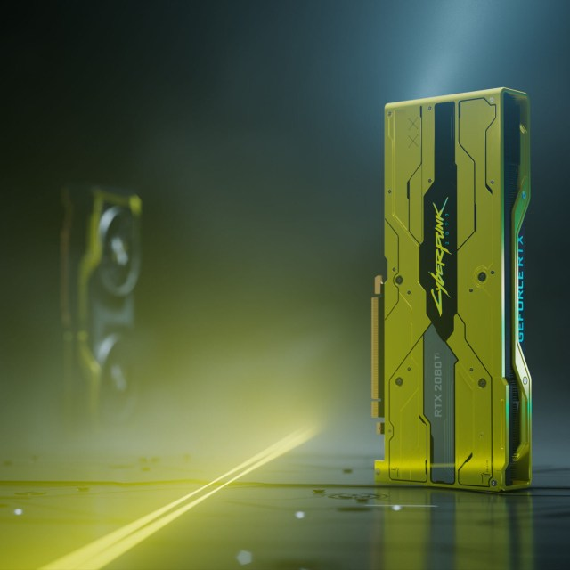 "GeForce RTX 2080 Ti ""Cyberpunk 2077 Edition"""