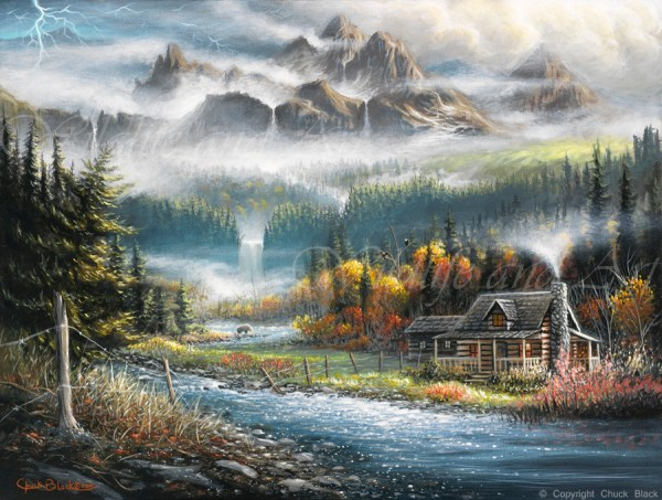 Paradise Valley painting – Wildlife and Art