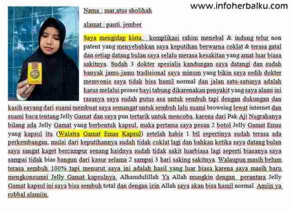 Khasiat Dan Manfaat Walatra Gamat Emas Kapsul