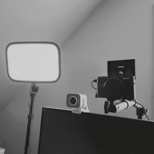 Lighting and camera equipment