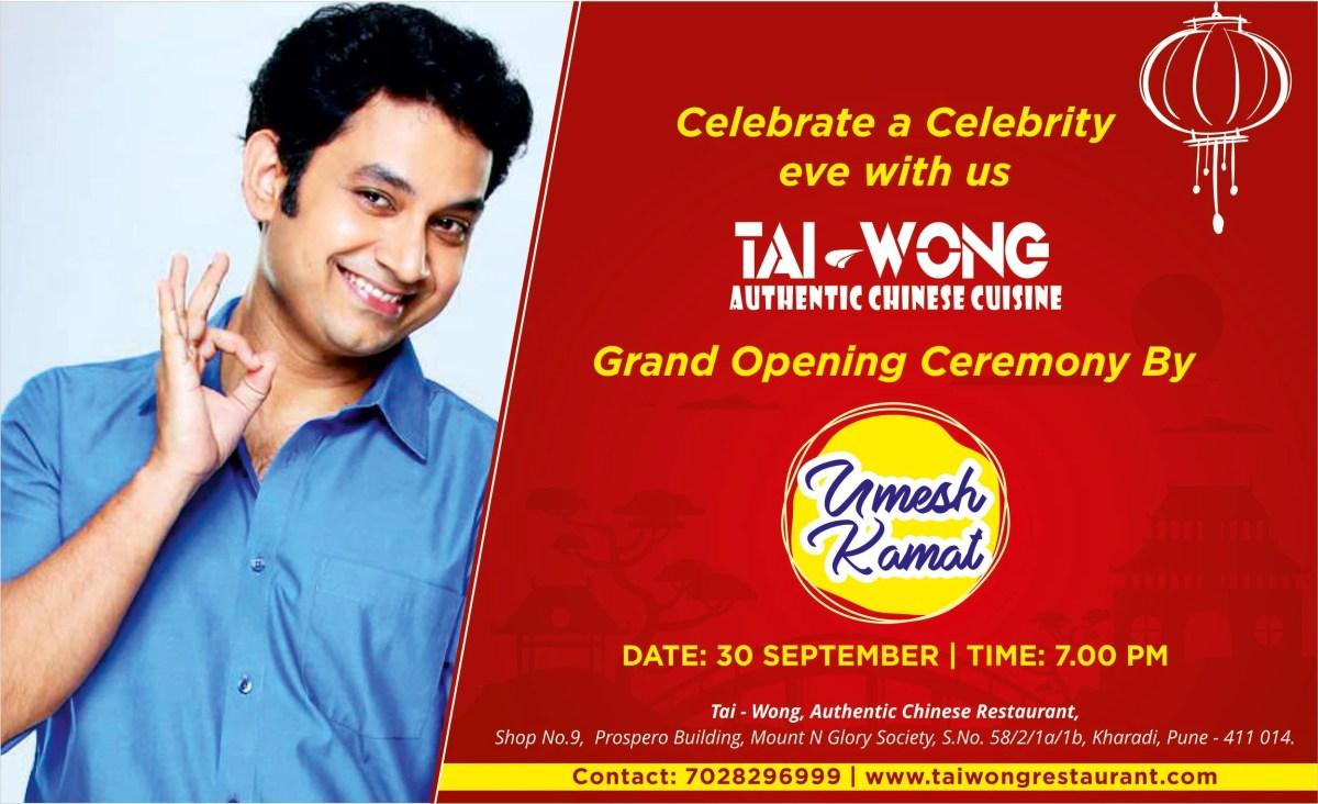 Opening Banner Design Taiwong by Umesh Kamat