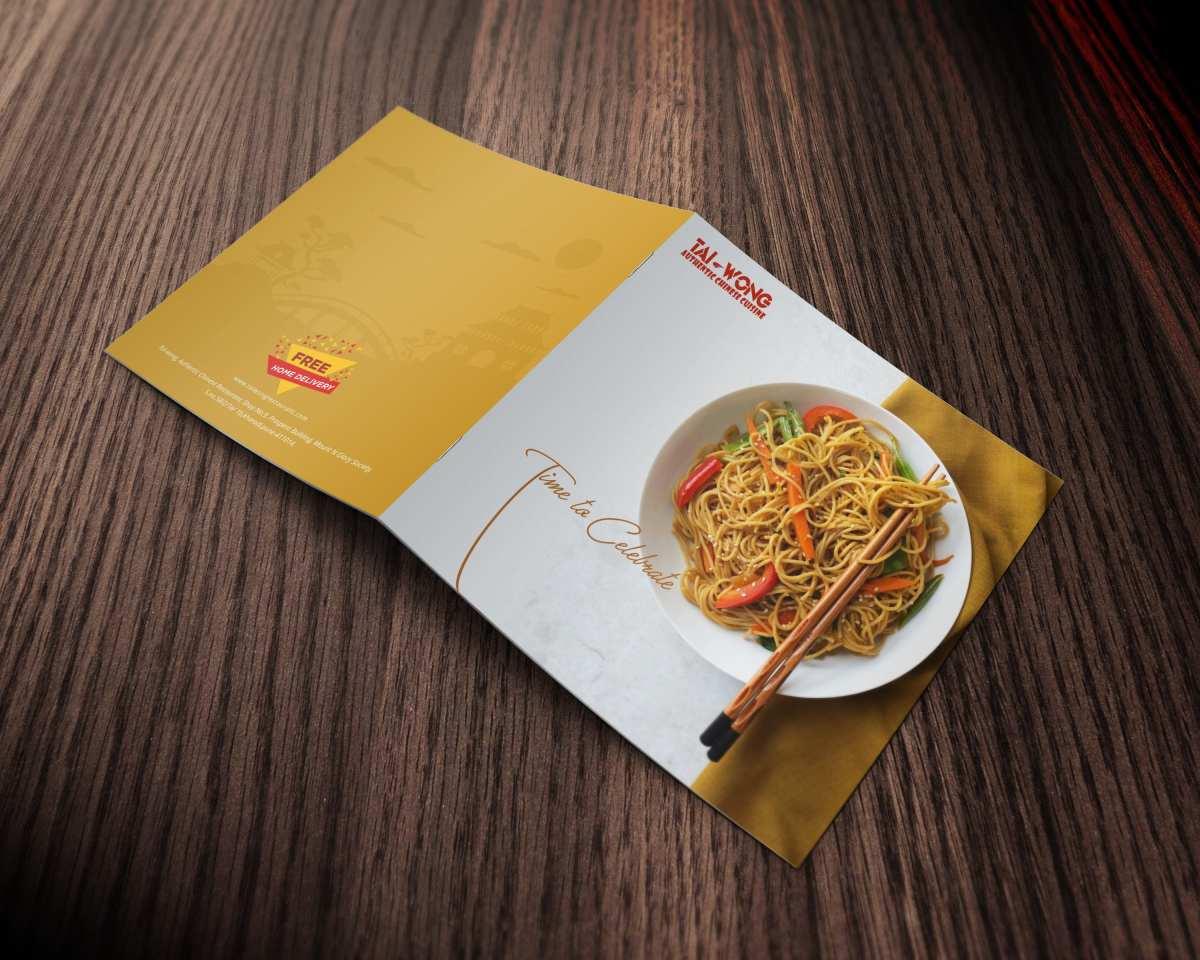 Presentation Design For Chinese restaurant in pune 1