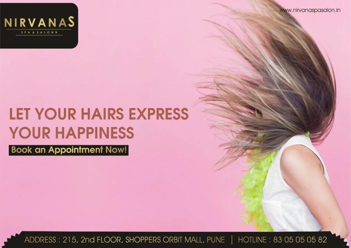 Nirvana hair Salon pune