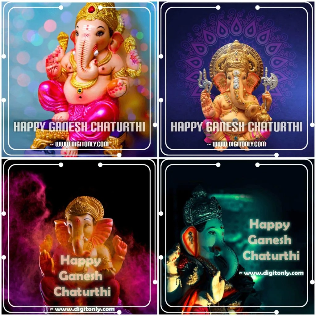 Happy Ganesh Chaturthi Images HD | For Whatsapp Fb DP