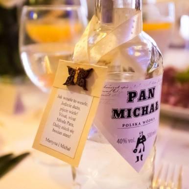Personalised vodka labels