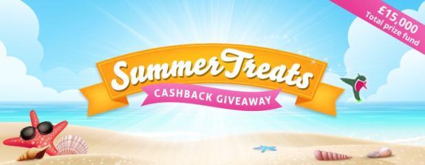 TCB Summer Treats Cashbacj Giveaway